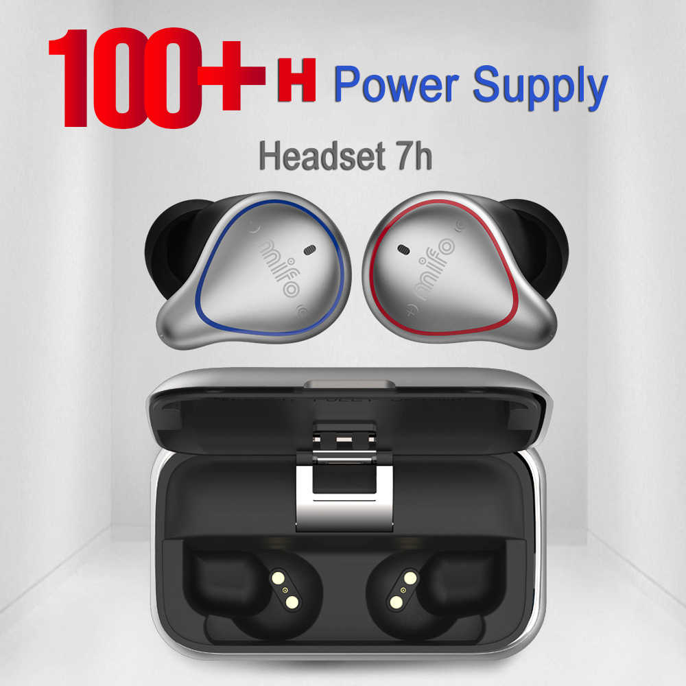 a5150a59e42 Mifo O5 Sports HIFI Earphone Stereo Ultra small mini invisible Wireless  Earbuds Bluetooth earphones with Mic
