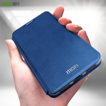 MOFi for Xiaomi Redmi 5 Plus Case for redmi 5 plus flip case cover Leather Capas coque for xiomi redmi 5 plus housing original mofi for xiaomi redmi 5 plus case cover silicone carbon fiber soft tpu shock full protector cases for redmi 5 plus phone cover