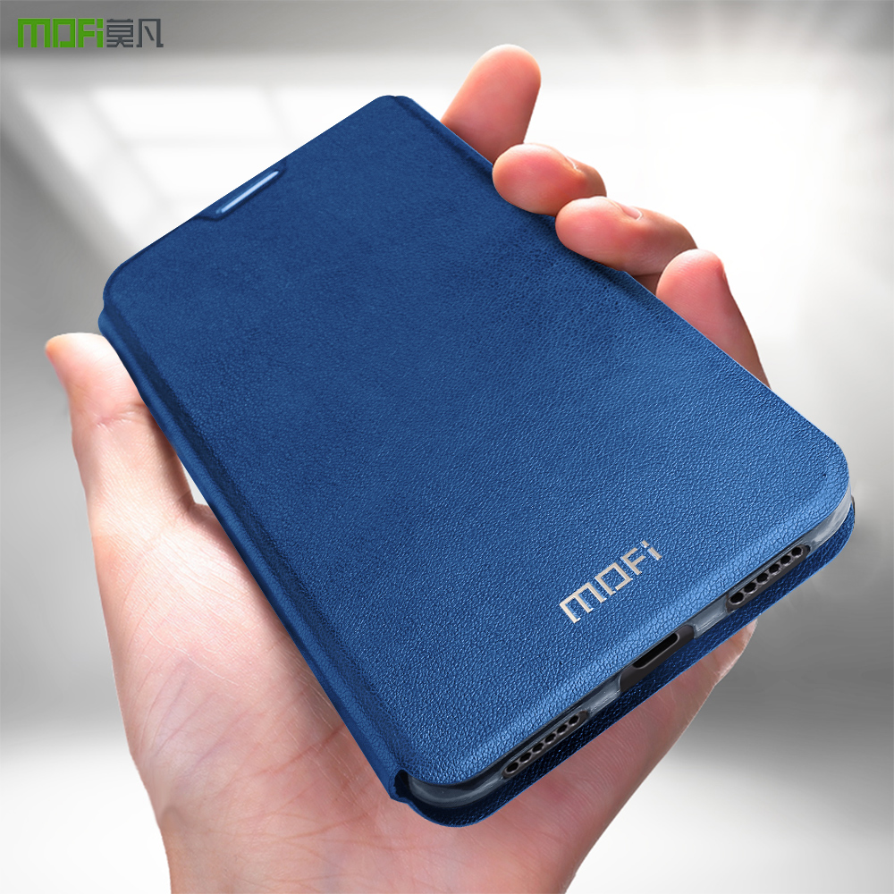MOFi para Xiaomi redmi 5 Plus para redmi 5 plus flip caso de la cubierta de cuero Capas coque para xiomi redmi 5 además de la vivienda original