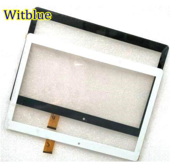 Witblue New Touch Screen Touch Panel Glass Sensor Replacement For 10.1 Finepower A3 3G Tablet Free Shipping touch screen touch glass panel ft as00 12 1 a new