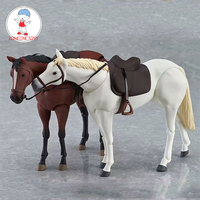 1:12 Scale Horse Action Figure Model With Movable Joints For 6 inches dolls scene accessory