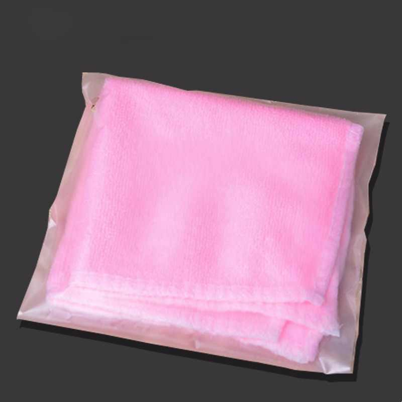 0.07mm 100pcs Matte Clear Pack Bag Reclose Self Adhesive Seal Frosted Frosting Cellophane BOPP Poly Opp Pouch for Clothes Pack