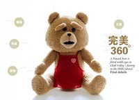 stuffed animal about 60cm teddy bear movie ted bear plush toy doll limbs and head can rotate 360 degrees ted toy b9100
