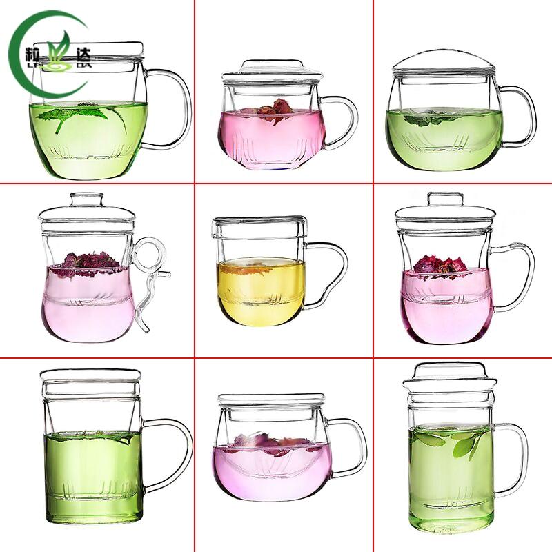 9 Different Styles High Quality Heat-Resistant Glass Teapot Oolong Tea Black Tea Green Tea Tea Set