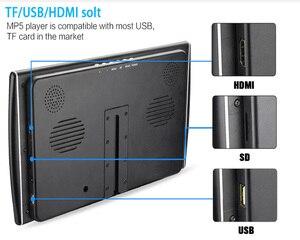 Image 5 - XST Monitor ultrafino de 11,6 pulgadas para reposacabezas de coche, reproductor de MP5 con pantalla LCD de vídeo HD de 1080P, USB/SD/HDMI/FM/altavoz, 2 uds.
