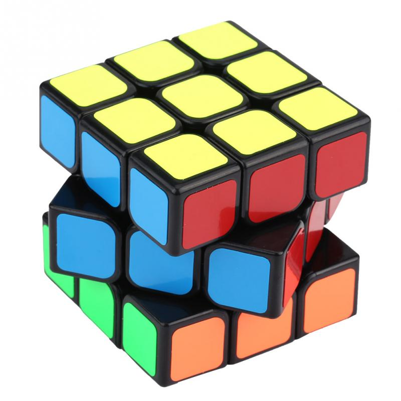 Image 5 - Cube 3x3x3 6 Sides Speed cube magic cubes cubo magico Plastic Educational Puzzle Twist Game Gift toys for children-in Magic Cubes from Toys & Hobbies