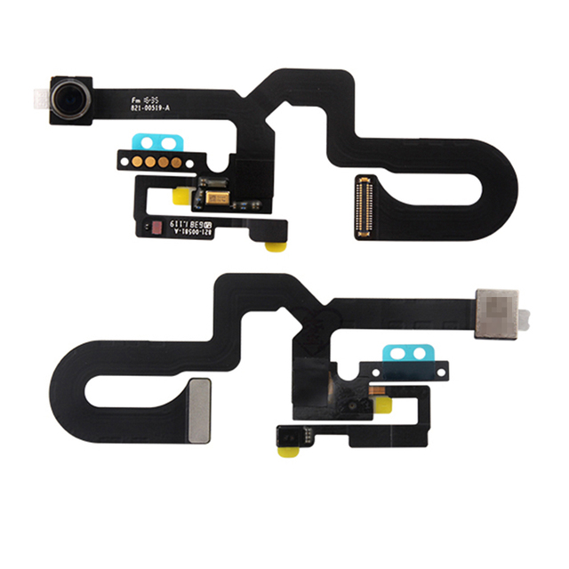 1 PC New Mic And Front Camera Replacement For iPhone 7 Plus  Flex Cable Ribbon With Light Sensor W0G28 T0.1