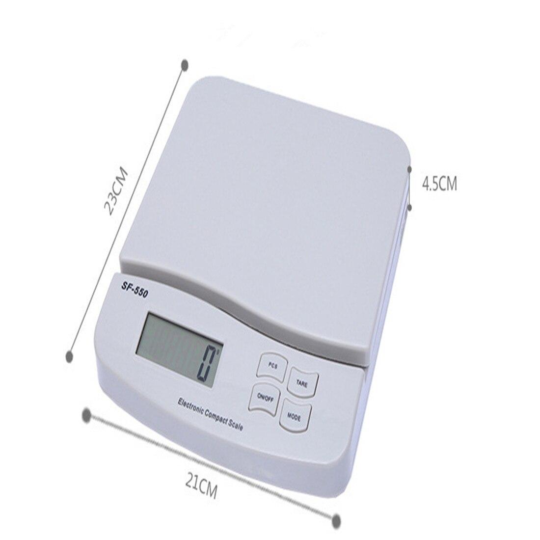 25 kg/1g alimentaire régime échelle numérique LCD rétro-éclairage électronique alimentaire régime cuisine poids Balance haute précision bijoux offre spéciale - 5