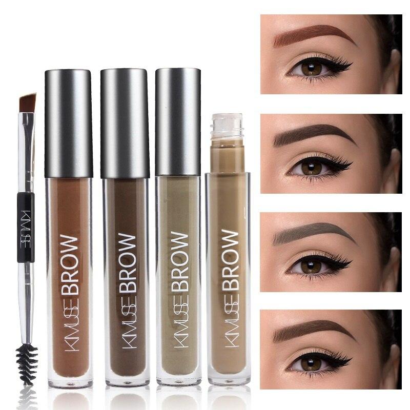 Henna Tattoo For Eyebrows: Henna Tattoo Eyebrow Gel Tint Makeup Waterproof Eyebrow