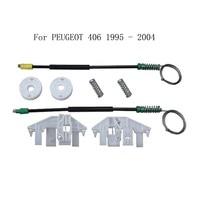 Para PEUGEOT 406 1995 2004 de Energia Elétrica Janela Levantador Regulador Da Janela Do Carro Kit de Reparação de 4/5 Porta  frente de Esquerda|kit kits|door repair kitdoor kit -