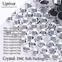 LY12145 DMC Hotfix Rhinestone Bulk Packing Ss20 Crystal 100Gross Bag Best Quality EMS Free Use For