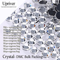 LY12145 DMC Hotfix Rhinestone Bulk Packing Ss20 Crystal 100Gross Bag Best Quality EMS Free Use For