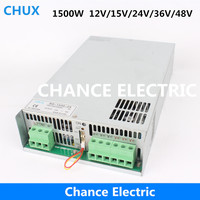 New 1500W 12v 15v 24v Wall Mount PSU BS 1500W Industry Single Output Switching Power Supply 36v 48v
