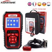 KONNWEI KW850 OBD2 ODB2 Scanner Auto Diagnostic Scanner for VAG BMW Toyota OBD 2 Car Code Reader Erase Errors Auto Scanner tools