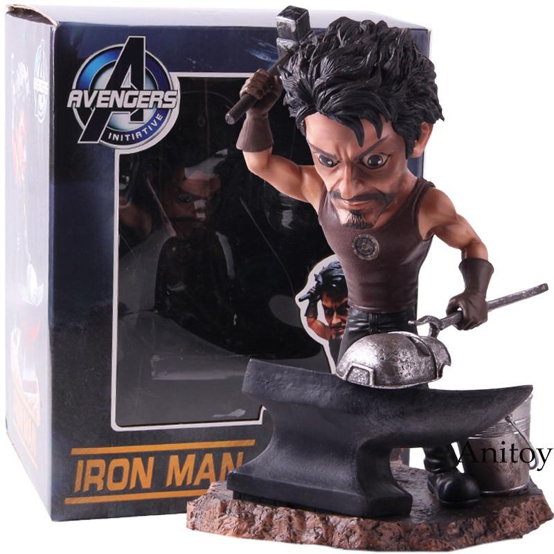 Marvel Avengers Initiative Iron Man Tony Stark PVC Ironman Statue Figure Action Collectible Model ToyMarvel Avengers Initiative Iron Man Tony Stark PVC Ironman Statue Figure Action Collectible Model Toy