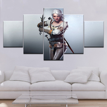 HD Printed Witcher 3 Wild Hunt Painting on Canvas Living Room Home Decoration Print Poster Picture Canvas Framed Free Shipping цена 2017