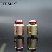 Электронный комплект сигарет FERSHA Gladiator Комплект распылителя RDA с оригинальным боковым входом Регулируемый воздушный поток