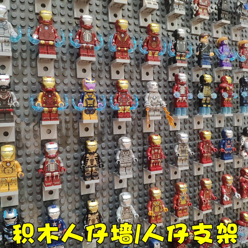 Super Heroes Figures Superhero Iron Man Armor Movie Character Figure Model Building Blocks Bricks Toys For Children Gifts