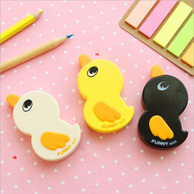 1X 6m Cute Little duck Correction Tape material escolar Kawaii Stationery Korean Novelty School Supplies child gift