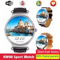 Hold Mi KW98 Smart Watch Android 5 1 3G Network WIFI GPS Watch MTK6580 Smart Sport