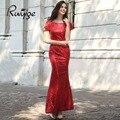 Ruiyige 2017 elegante verano 5 colores vintage túnica de lentejuelas mujeres flare maxi largo atractivo formal del partido vestidos de dama de honor