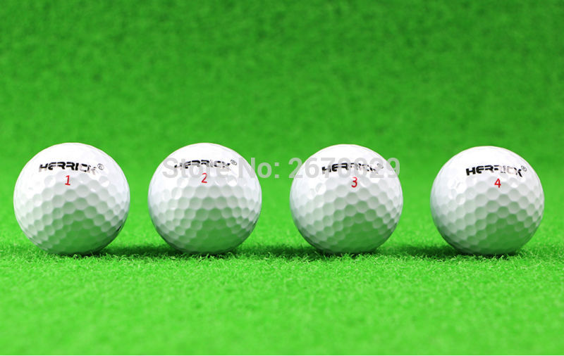 ФОТО High Quality Golf  ball 12 PCS White Golf Game Ball two Layers High-Grade Golf Ball Wholesale Direct Manufacturer Promotion