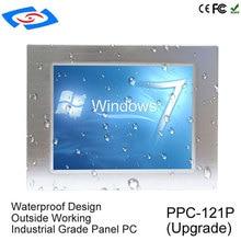Низкая стоимость 12,1 дюйма обновления все в одном Оперативная память 8G Безвентиляторный Tablet PC с 2xlan Применение школьного образования Промышленные ПК