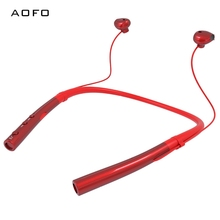 цена на AOFO Sport Sweatproof Bluetooth Headset Super Mini Earbud Built in 180mAh Battery V4.2+EDR Wireless Bluetooth Earphones