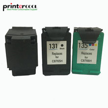 einkshop 131 135 Refilled Ink Cartridge Replacement for hp Deskjet 460 5743 Photosmart 2573 PSC1600 1613 2350 printer