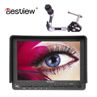 BESTVIEW S7 4K Camera HDMI HD Monitor Video TFT Field 7 Inch DSLR Lcd Monitor 1920