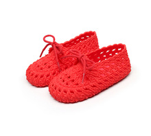 Mini Sed 2019 New Kids Jelly Sandals Children Roman Shoes Hollow Girls Princess Non-slip Beach