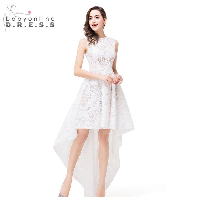 Best Asymmetrical Lace Wedding Dress Contemporary - Styles & Ideas ...