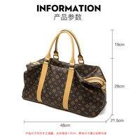 4 new fashion travel bag unisex handbag simple lightweight sports fitness bag duffel bag B111203 190425 bobo