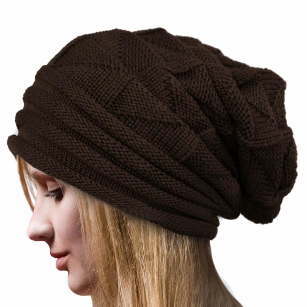 Winter Hats For Women Beanie Men Skullies Bonnets Women Winter Crochet Hat Wool Knit Beanie Warm Caps Invierno Turban Hat