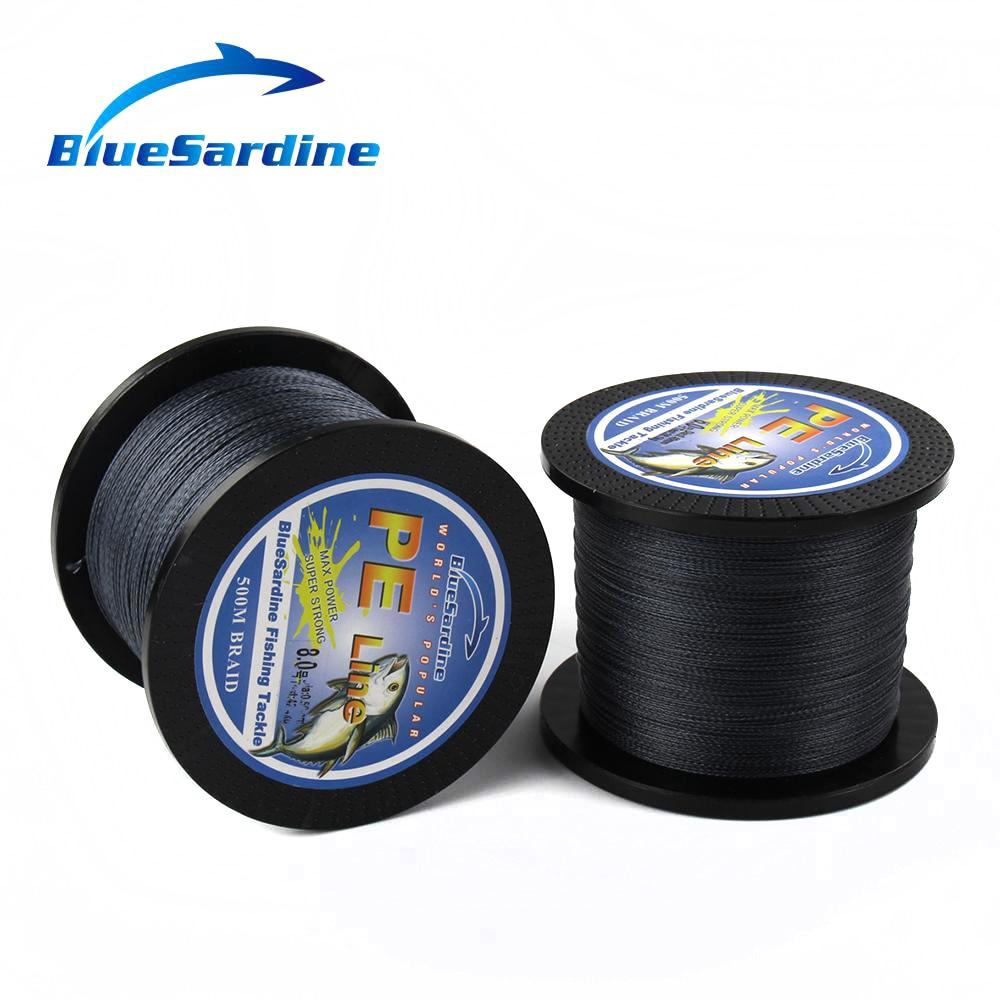 BlueSardine Örgülü Balıqçılıq Xətti 500M Multifilament PE - Balıqçılıq - Fotoqrafiya 3