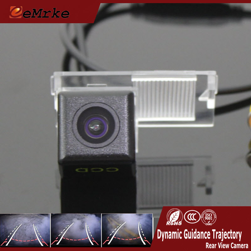 EEMRKE For Citroen DS5 DS6 DS 5LS Elysee C2 C4 C5 C3-XR CCD HD Car Rearview Camera With Tracks Reversing Guidance Trajectory