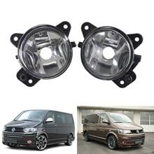 ANGRONG 2x Anteriore Della Luce di Nebbia lampade di Ricambio OEM Left & Right Nessuna Lampadina Per VW Transporter T5
