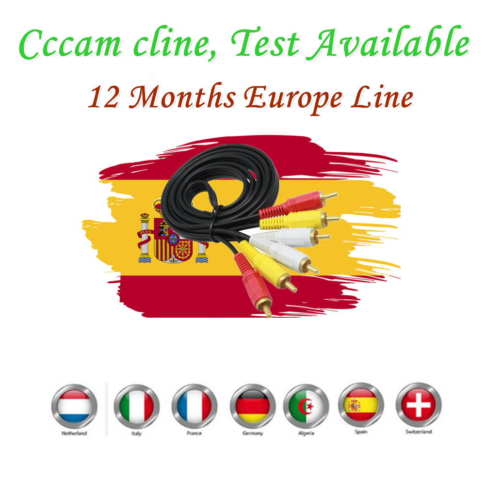 Best And Stable Cccam Cline Receptor For 12 Months Free Watch Spain Italy Ect Europe Used For Freesat V7/v8 DVB-S2 CCcam Cline