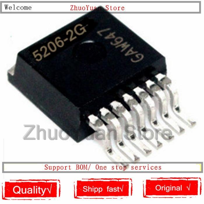 1PCS/lot New Original TLE5206-2G TLE5206-2 5206-2G TLE5206  Chip IC TO-263