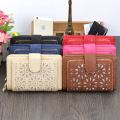 New Arrival PU Leather Vintage short style  Women Wallet  Coin Pouch Money Pocket 6 Color On Sale  3