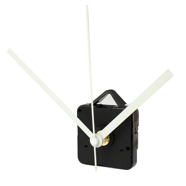 Zero High Quality Quartz Clock Movement Mechanism with Hook DIY Repair Parts + Hands