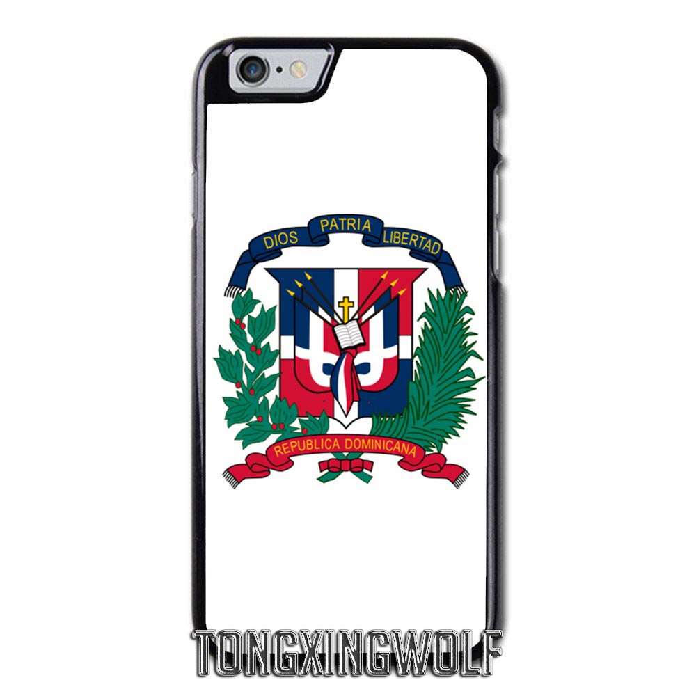 Dominican Republic Flag Cover Case For Samsung S4 S5 S6 S7 S8 Eege