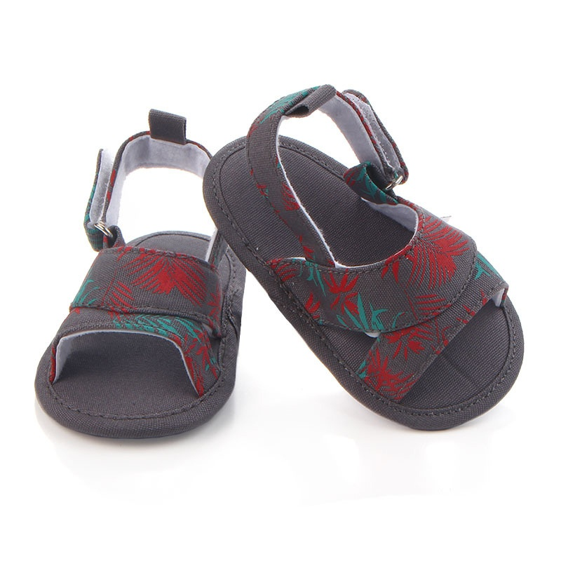 2017 New Fashion Baby Summer Chic Shoes Baby Boys Girls Printed Hollow Footwear Soft Non-Slip Toddler Casual Shoes First Walker
