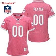 Chicago reminiscência Jersey das Mulheres Personalizado Camisa de Futebol  Americano Jerseys Tamanho Cor Rosa Atacado S-XXXL 054d2e9089f2a