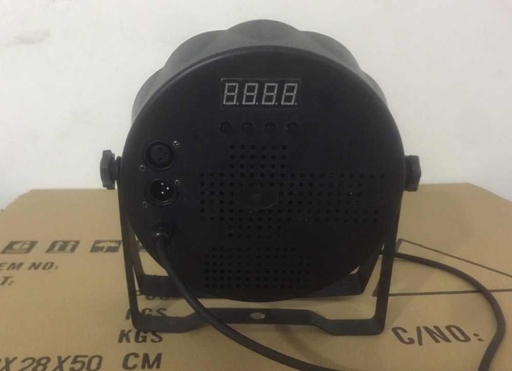 Светодиодный Par 18x12 Вт RGBW 4в1 мыть свет Роскошные светодиодные сценические светильники контроллер Светодиодный прожектор плоских параллельных лучей dj