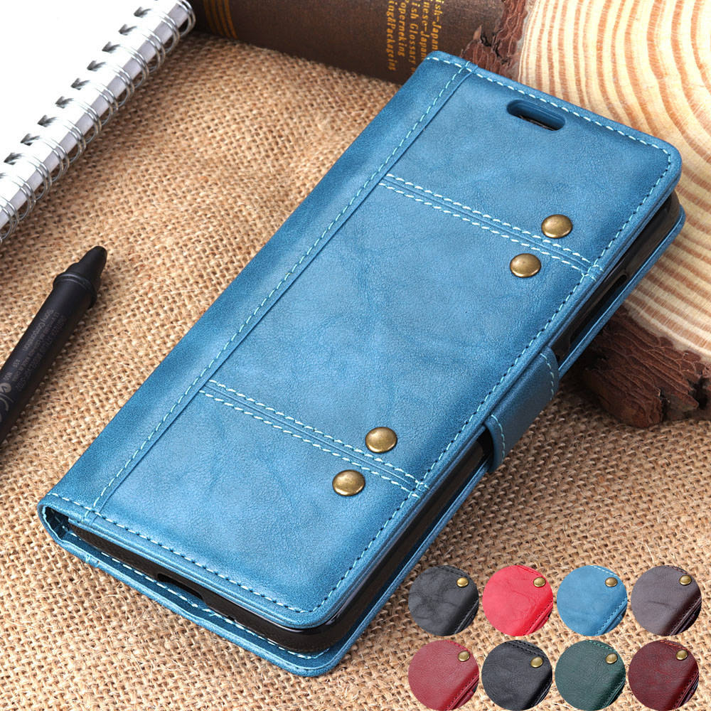 fone capa y9 2019 2018 Luxury Wallet phone case for huawei y9 prime 2019 Magnetic PU