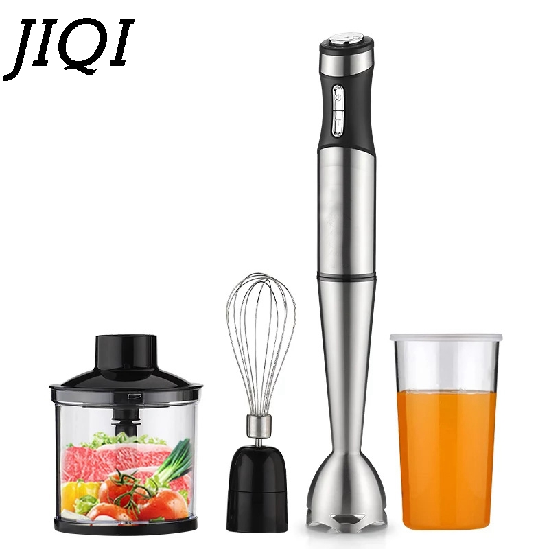 JIQI Electric Eggs Whisk mixer multifunction juicer Hand food blender household grinder stick fruit juice beater cooking machine цена и фото