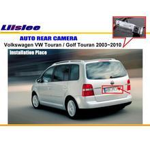 Автомобильная камера заднего вида для Volkswagen VW Touran/Golf Touran 2003~ 2010 задняя парковочная камера NTST PAL светильник для номерного знака OEM