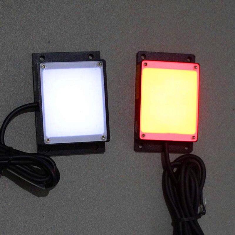 LP-200 Panel Lamp Machine Vision Lights Planar Light Source 200mm LED Lighting LED Visual  Red Detection Lights 200*200mm