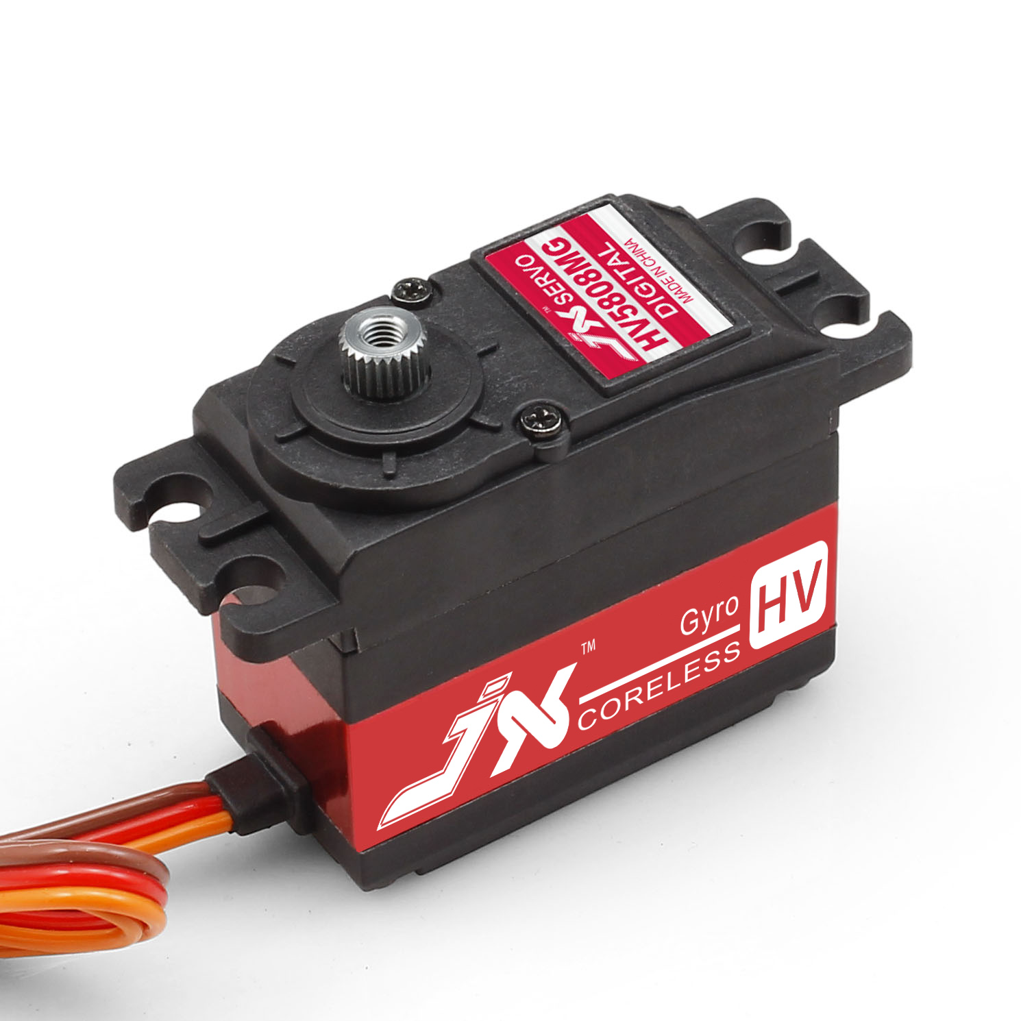 Superior Hobby Jx PDI-HV5808MG 7KG High Precision Metal Gear High Voltage Digital Coreless Narrow band Servo superior hobby jx cls6310hv 10kg aluminium shell metal gear high voltage coreless digital servo